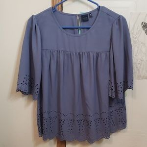 Kaari Blue Blouse